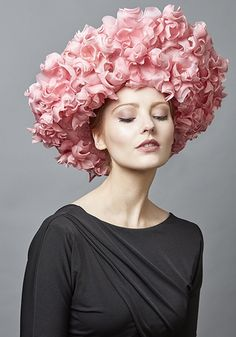 Royal Milliner Rachel Trevor-Morgan offers a couture bespoke service for occasion hats and headdress. Rachel Trevor Morgan, Occasion Hats, Natural Hair Styles For Black Women, Fancy Hats, Wedding Hats, Pink Silk, Headgear, Headdress, Summer Collection