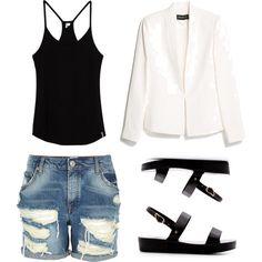 Black // White // Denim