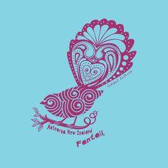 New Zealand Art Block - The cheeky fantail Maori Patterns, Zealand Tattoo, Maori Designs, New Zealand Art, Nz Art, Art Calendar, Maori Art, Kiwiana, Carving Designs