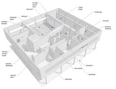 Villa Savoye Floor Plan Dwg >> Image result for dimensions villa savoye   villa savoye ...