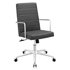 Modway Cavalier Highback Office Chair Gray - EEI-2124-GRY