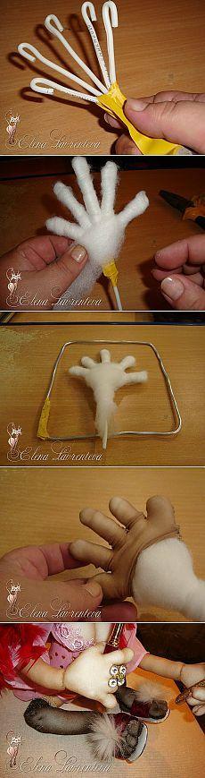 Руки для кукол от Елены Лаврентьевой. МК | Рукоделие для всех
