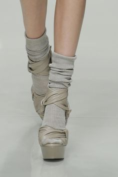 burberry prorsum/wedge sandal