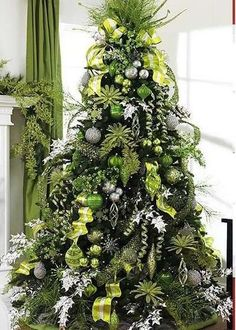 Chritsmas Decor Excellent Ideas Green Christmas Tree Decorations Lime Red And