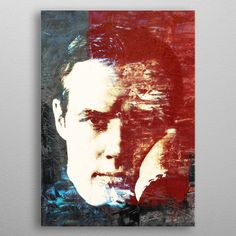 Marlon Brando by Fernando Vieira | metal posters - Displate