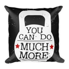 You can do much more Pillow