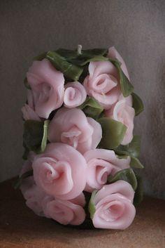 Svíčka • 3D růže