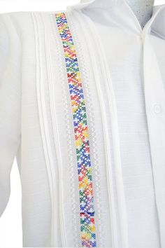 Designs For Dresses, Dress Neck Designs, Traditional Mexican Shirts, Kids Dress Wear, Flower Embroidery Designs, Embroidery Stitches, Mexican Party, African Men Fashion, Button Up Dress