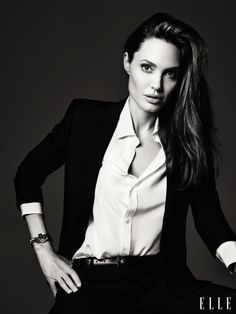 More photos from Angelina Jolie's Elle spread