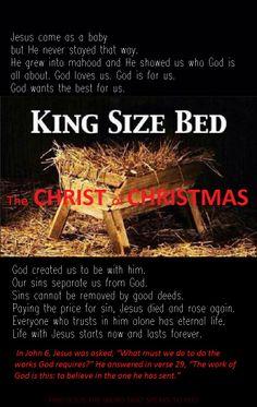The Christ of Christmas / John 6:29