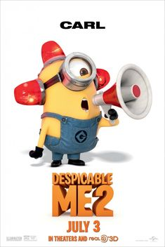 Despicable Me 2 Movie Poster #9 - Internet Movie Poster Awards Gallery