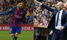 Messi, al límite; Zidane, con la reserva  #caracas #NellaBisuTej