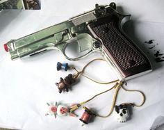 Babydoll Sucker Punch Charm Gun by MalteseLizzieMcGee on Etsy