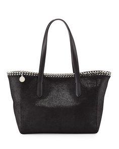 5d0955e5f9 STELLA MCCARTNEY Falabella East-West Shopper Tote Bag