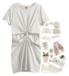 """""""Untitled #1959"""" by tacoxcat ❤ liked on Polyvore featuring H&M, New Balance, Eva Solo, Korres, Shabby Chic, philosophy and Vince"""