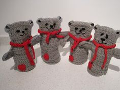 CHALKYS WORLD: Tutorial for a Slimline version of the Crochet Bear Puppet.