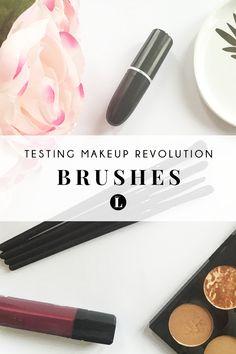 Testing Makeup Revolution Brushes | Hit or Miss?