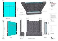 Image result for how to build water wall