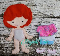 Michaela doll and outfit. Fabric may vary. Available at https://www.etsy.com/shop/SchoolhouseBoutique