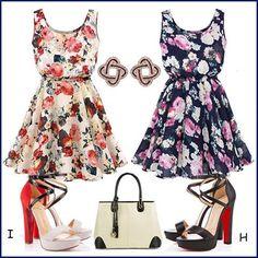 Lovely summer floral dresses!my love!