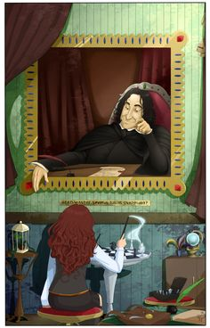 Playing chess with Snape