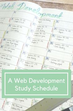 I decided to set out a Web Development study calendar in my bullet journal. As I like to track things and have a plan for what I want to get done. It tends to be a good way to keep me motivated. When you are studying alone and teaching yourself using multiple resources, everything can get a little hectic and overwhelming. Although it took a little while for me to break everything down into what I could reasonably achieve in the timeframe I have, it is already making it easier to plan each…