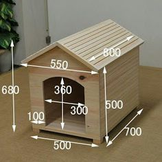 Top 45 Useful Standard Dimensions - Engineering Discoveries Wood Dog House, Pallet Dog House, Dog House Plans, Small Dog House, Outdoor Furniture Plans, Wood Pallet Furniture, Diy Furniture, Diy Wood Projects, Woodworking Projects