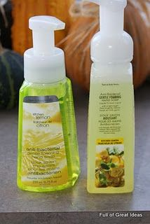 DIY Foam Soap Refills - why did I not think of using Bath & Body Works Shower Gel before?  I love the foam soap but hate paying for mostly water - problem solved!