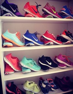 Which are your favorite Nike shoes?mine are all of them!!!!this is my dream<3