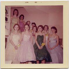Prom night, June 1960.
