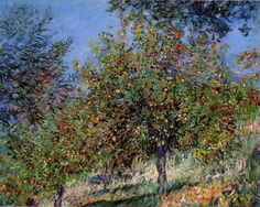 5 Paintings of Trees By Claude Monet And Vincent Van Gogh | http://thebrushstroke.com/5-paintings-trees-claude-monet-vincent-van-gogh/
