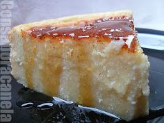 Con sabor a canela: Tarta de requesón (Quesada gallega) Gourmet Recipes, Cake Recipes, Dessert Recipes, Spanish Desserts, Chocolate Caramels, Cookie Desserts, Sweet Bread, Sin Gluten, Cooking Time