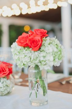 Pretty florals: http://www.stylemepretty.com/2014/12/18/citrus-infused-guatemala-wedding/ | Photography: Stacy Able - http://www.stacyable.com/