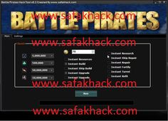 battle pirates hack tool v8.2 www.safakhack Battle Pirates Cheat Tool