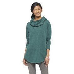 Leisure Hooded Tunic Green Marker M - Mossimo Supply Co.