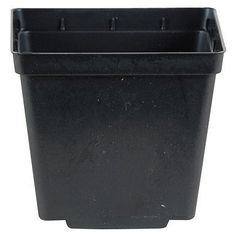 "10 NEW BLACK 5"" Kord Jumbo Square Pot ~ Pots are 5 3/8"" W x 5 3/8"" L x 6"" H by Kord. $14.50. Another great item from Flora Hydroponics. 8 drain holes. Perfect for transplants, seedlings and cuttings. These pots are used by nurseries and home gardeners. 5 3/8"" Black square pots. These green injection molded pots feature dual drainage bottoms along with an increase in soil volume over round pots to provide enhanced root development. Ideal for herbs, perennials and ..."