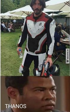 We need Keanu Reeves in marvel Funny Marvel Memes, Marvel Jokes, Avengers Memes, Funny Comics, Funny Jokes, Hilarious, Funny Images, Funny Pictures, Superhero Memes