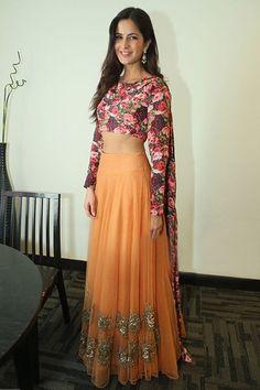 Katrina Kaif in Bhumika Sharma for 'Fitoor' promotions