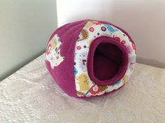 Small Pet Bed/Bunker for Hedgehog, Guinea Pig, Rabbit.