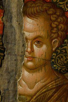 Byzantine Art added a new photo — with Miniaturi Bizantine. Religious Images, Religious Icons, Religious Art, Byzantine Icons, Byzantine Art, Paint Icon, Face Icon, Religious Paintings, Best Icons