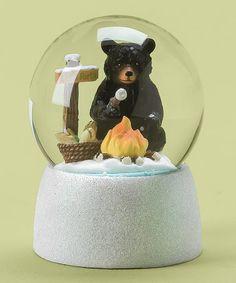 Black Bear Snow Globe