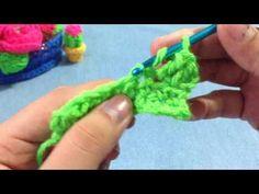 Crochet Para Principiantes 1/Puntos básicos - YouTube