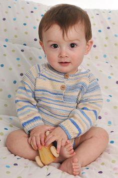 Den strikkede body, der lukkes med knapper foran og forneden, er superbehagelig og praktisk til de allermindste
