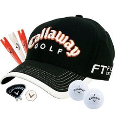 This hat gift set offers a few items from the Callaway line. A perfect present for any golf enthusiast.