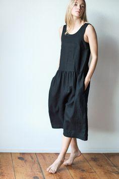 Ilana Kohn for Mavenhaus Collective Samet Jumpsuit in Black. *NEW*