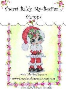 My Besties Stamps - Santa Baby
