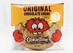 The Original Chocolate Chunk Cookie for the packaging smile file : ) PD
