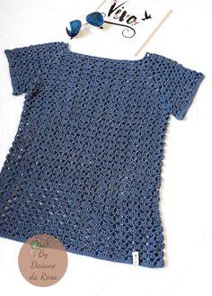 Blusa feminina em crochê By Daiane da Rosa Crochet Girls, Crochet Top, Fillet Crochet, Bolero Jacket, Eminem, Crochet Clothes, Crochet Flowers, Winter Outfits, Crop Tops