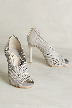 not that i wear this high of a heel, but these are so nice. Guilhermina Muara Heels #anthropologie
