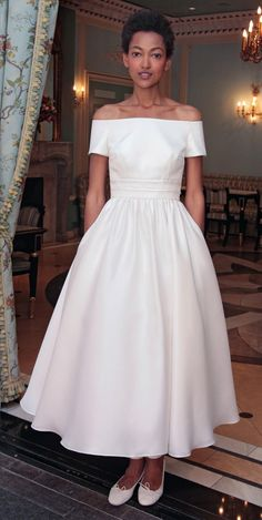Delphine Manivet's Flowy Spring 2017 Wedding Dresses are Everything | TheKnot.com
